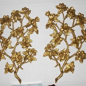 Other - Vintage Burwood Dogwood Branch Wall Floral Hanger